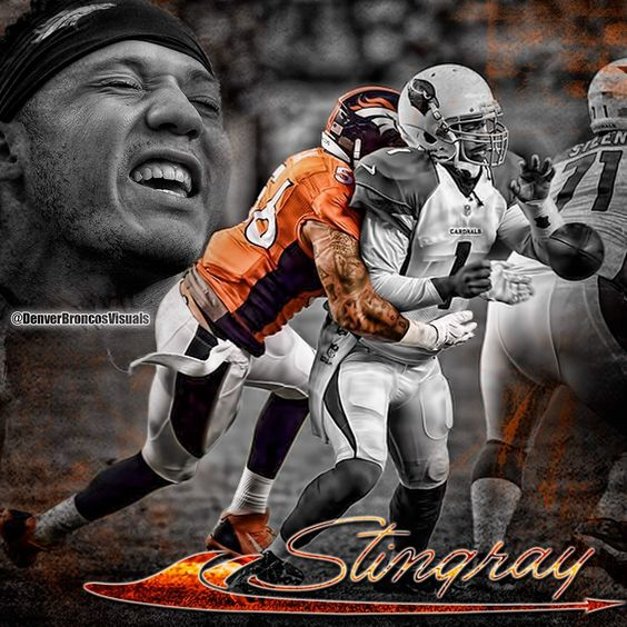 Follow Shane Ray, #56 Denver Broncos