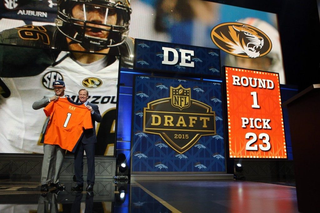 #56 Shane Ray, Denver Broncos Draft Day Pick