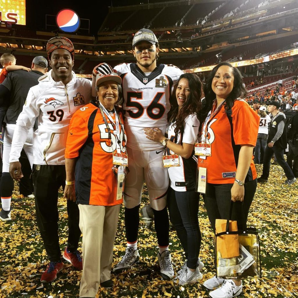AFC Championship Win with Family