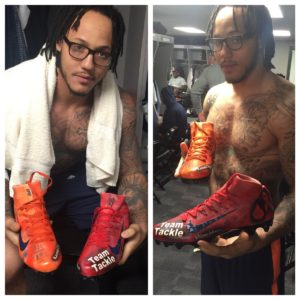 NFL Team Tackle, American Diabetes Association, and Shane Ray